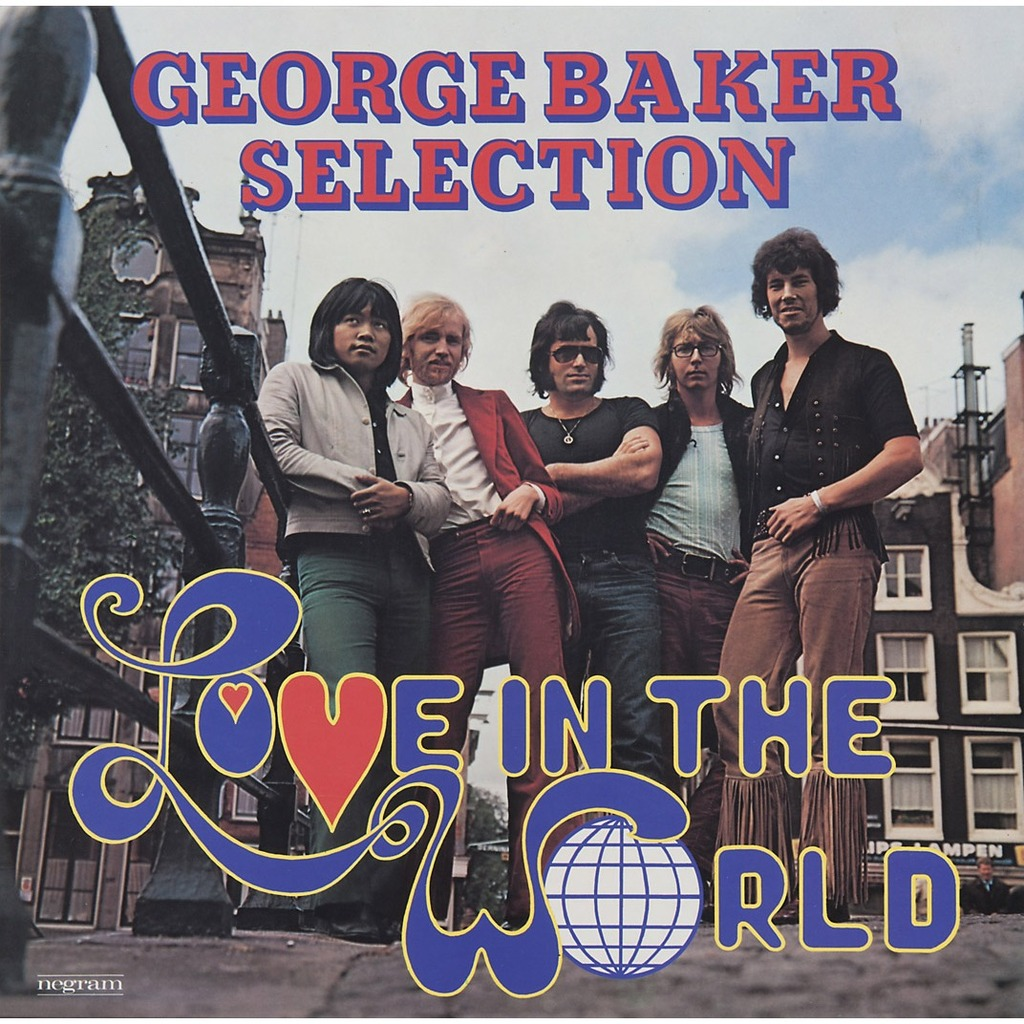 Love In The World By George Baker Selection Lp With