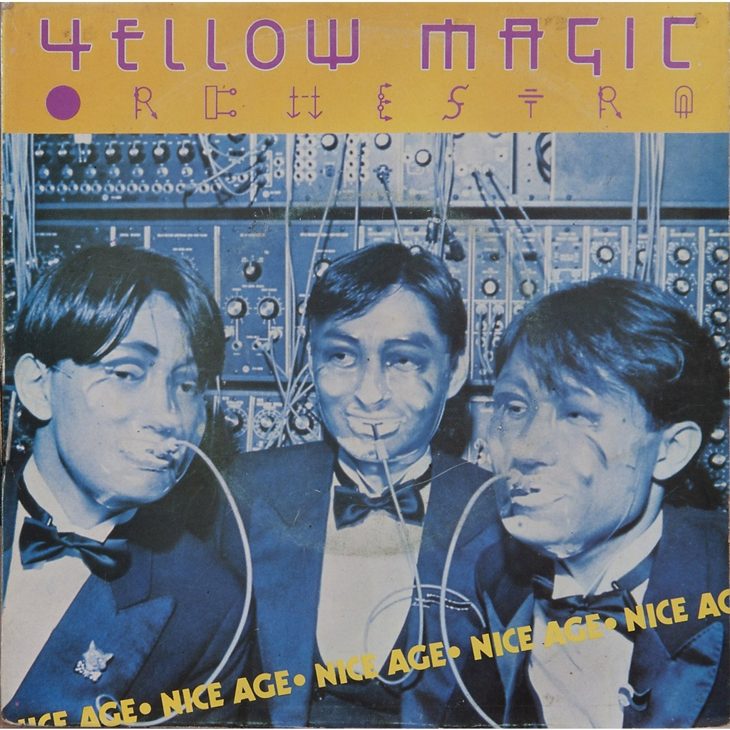 Yellow Magic Orchestra Technopolis Solid State Survivor