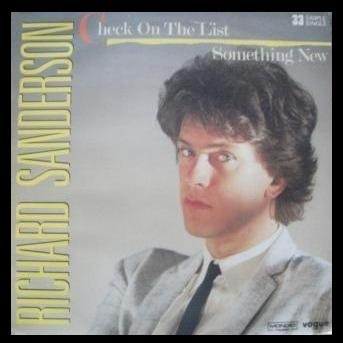 Richard SANDERSON check on the list // something new