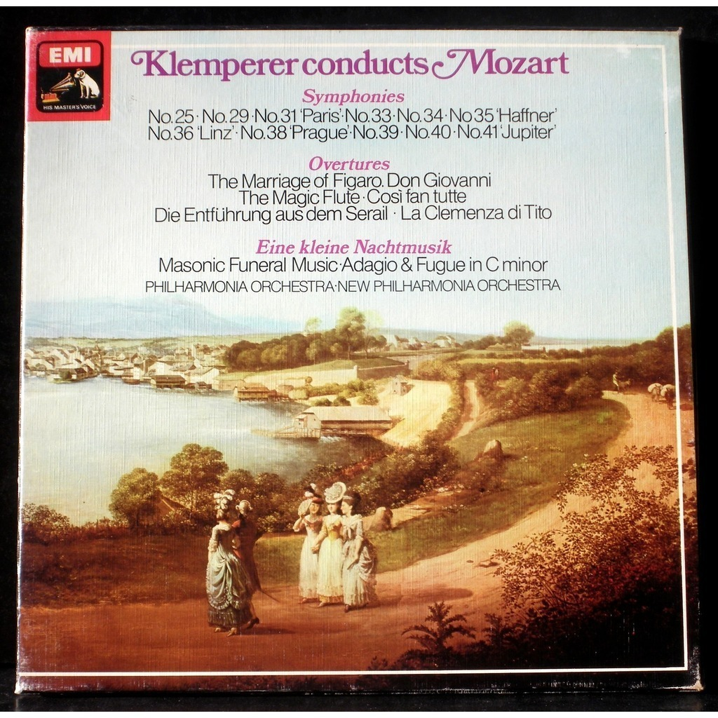 Otto Klemperer - Philharmonia Orchestra - The Klemperer Legacy - Beethoven - Symphonies 2 and 5
