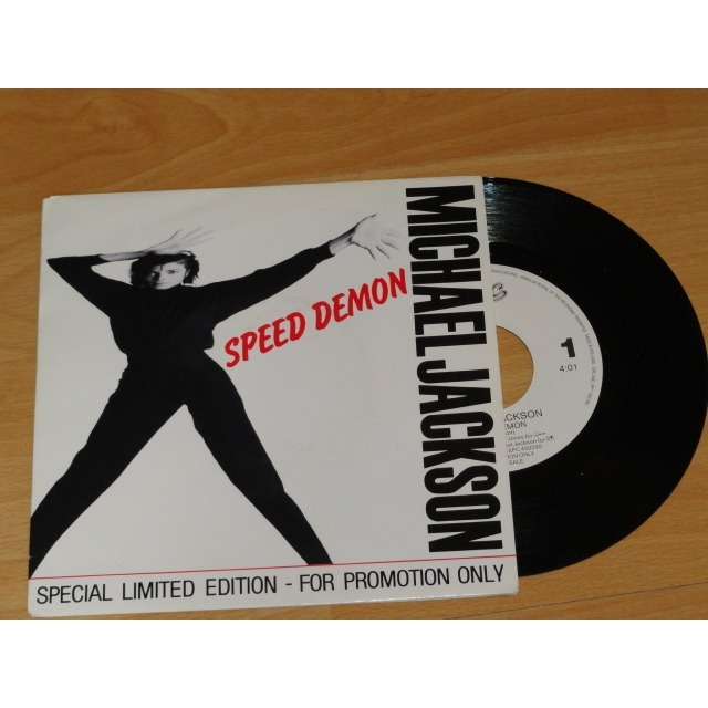 Speed Demon Very Very Rare For French Radios Fm Only