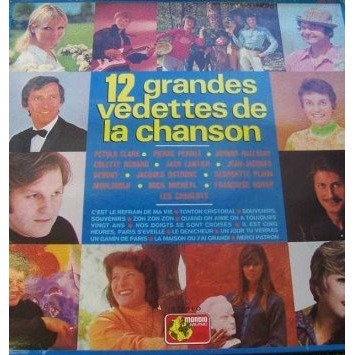 johnny hallyday 12 GRANDES VEDETTES DE LA CHANSON
