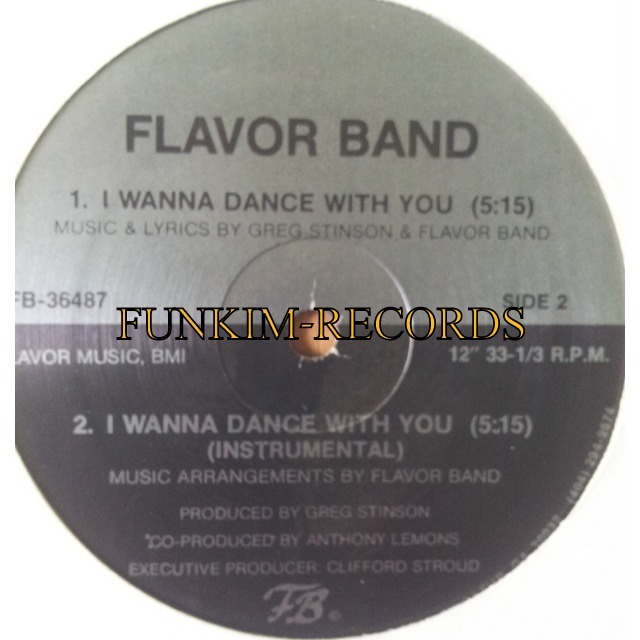 flavor band I wanna dance with you/ kid in us