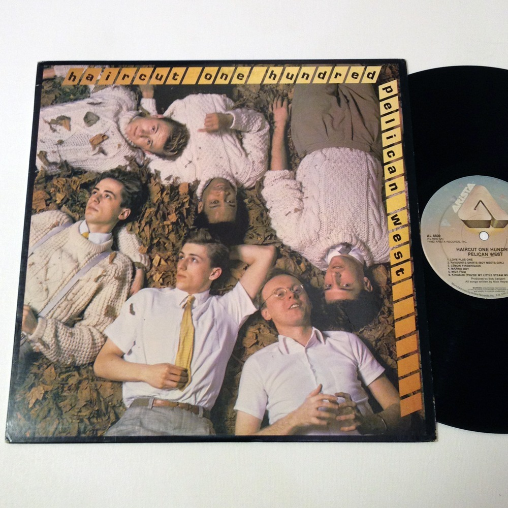 Pelican West By Haircut One Hundred Lp With Somewhererecords Ref