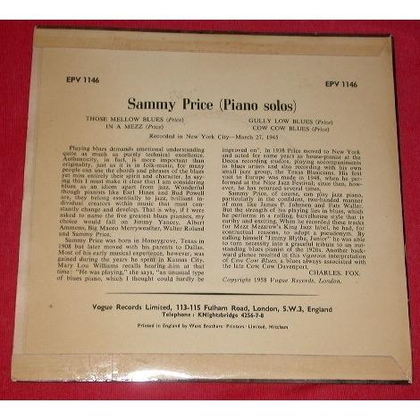 Sammy Price Piano Solos