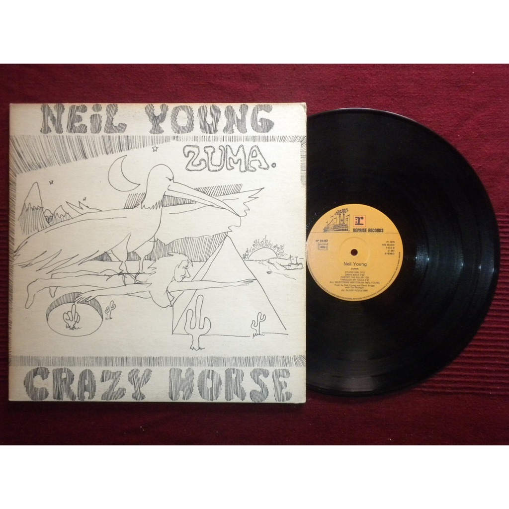 Neil Young Zuma Lp For Sale On Cdandlp Com