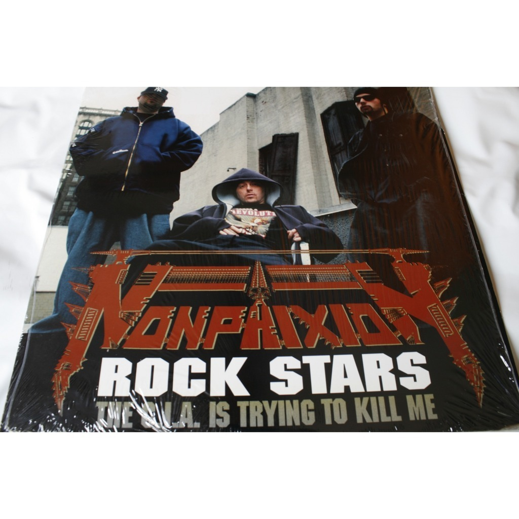 Non phixion rock stars lp for sale on for Rock star photos for sale