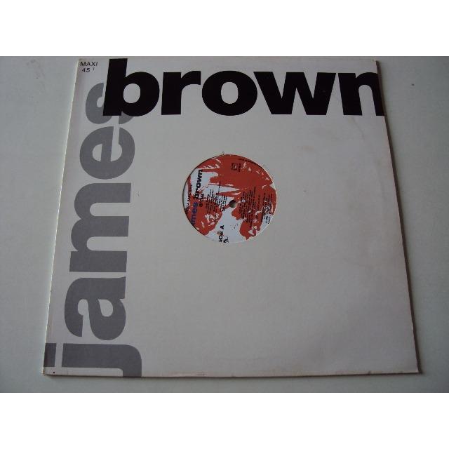 JAMES BROWN MEGA MACHINE (megamix dimitri / papa's got a brand new bag / PROMO COPY)