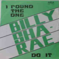 BILLY SHA - RAE - Do it / I found the one - 45T (SP 2 titres)