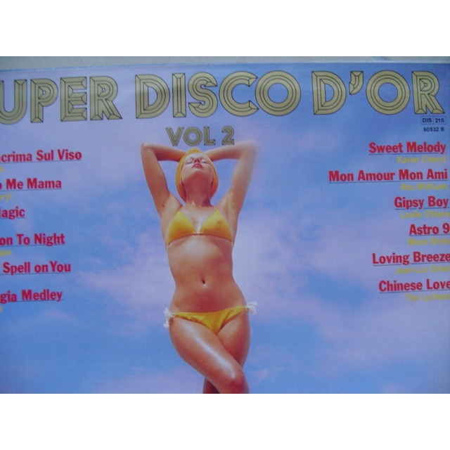 solo,cheryl,etc.. super disco d'or