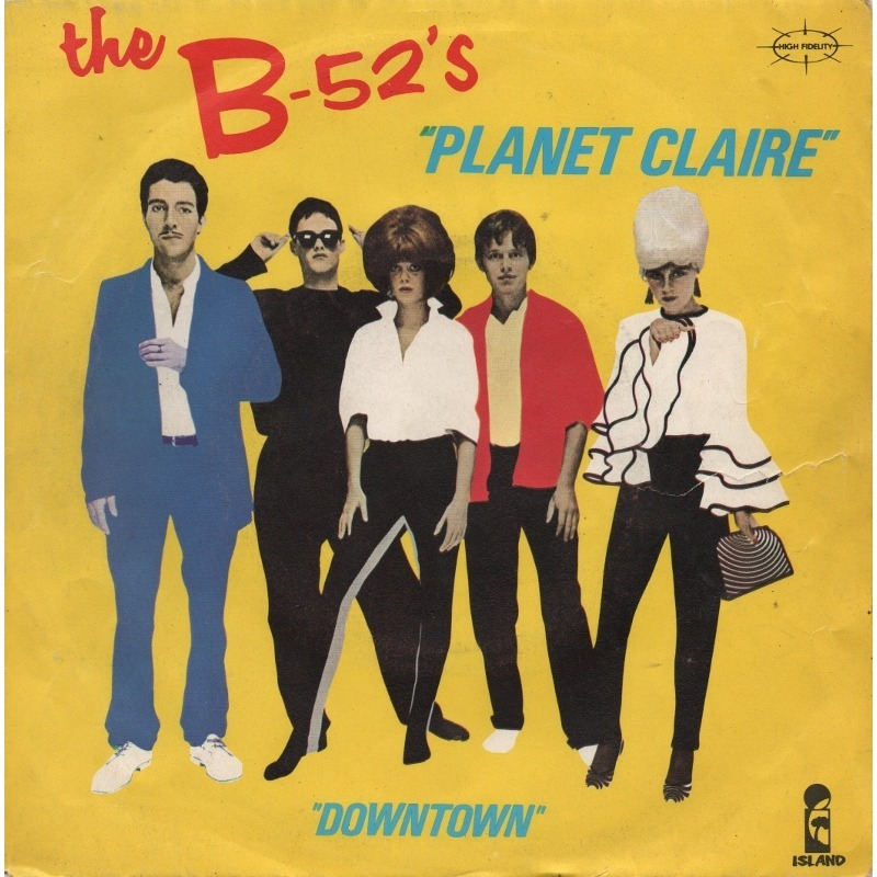 B 52s Planet Claire