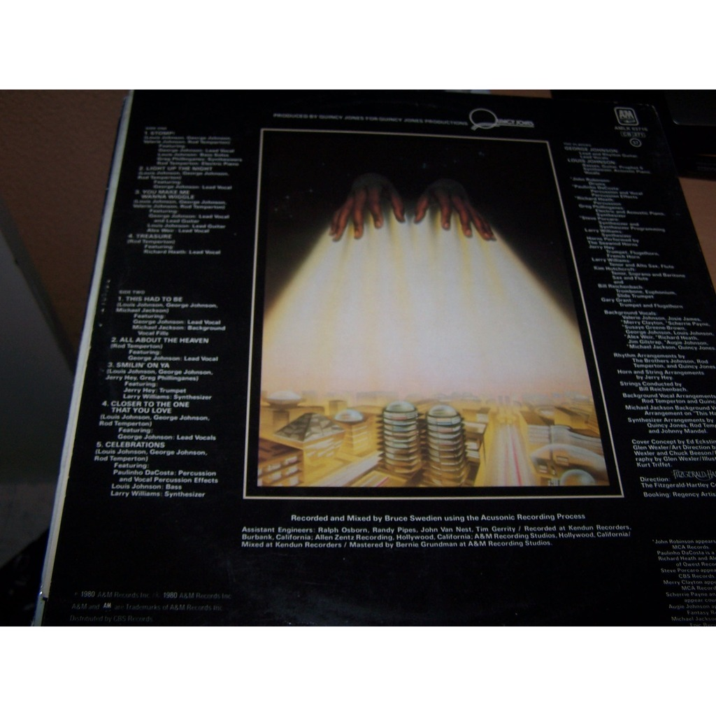 Light up the night by The Brothers Johnson, LP with bruno30