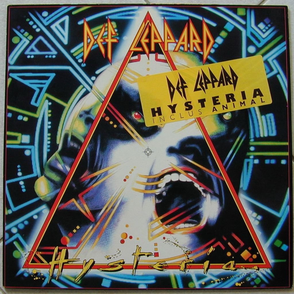 an overview of def leppard and its album hysteria Def leppard plays at las vegas and includes a set list from britain's greatest arena rock band that contains the top-selling album hysteria performed in its.