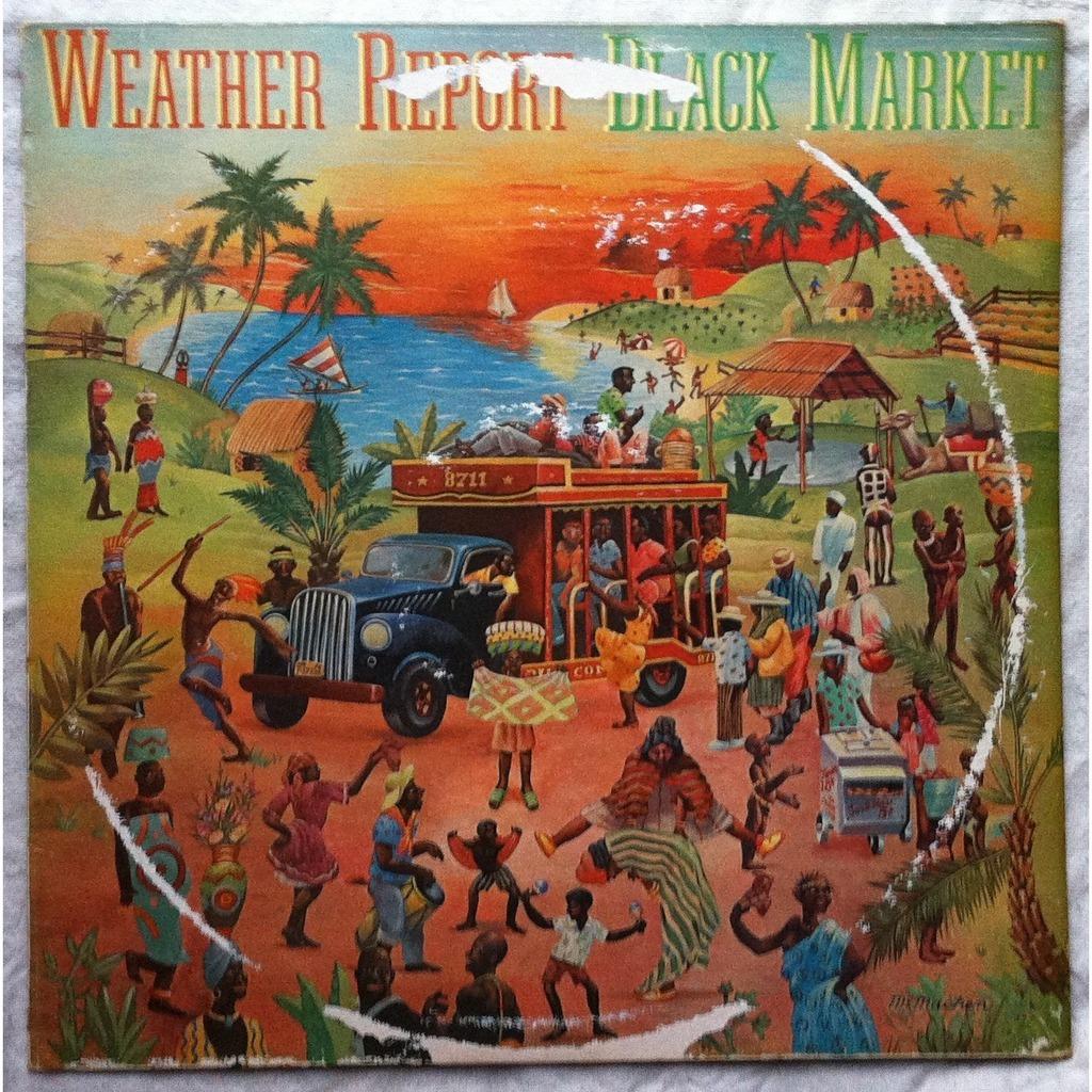 Black Market By Weather Report Lp With Airwaytovesten