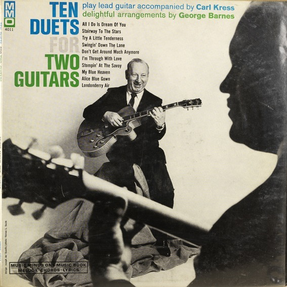Ten duets for two guitars by George Barnes / Carl Kress, LP with ...