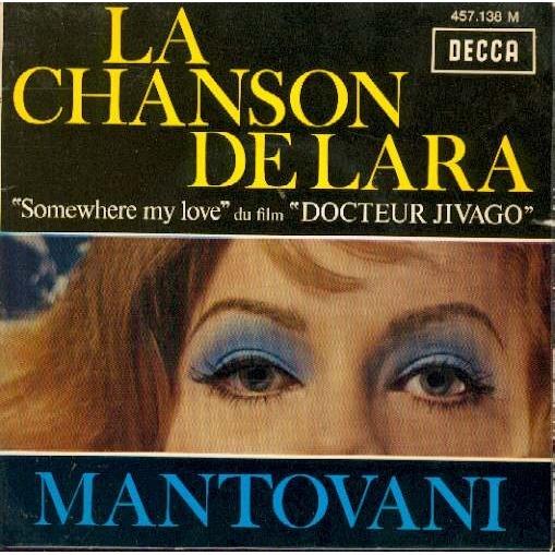 MANTOVANI LA CHANSON DE LARA