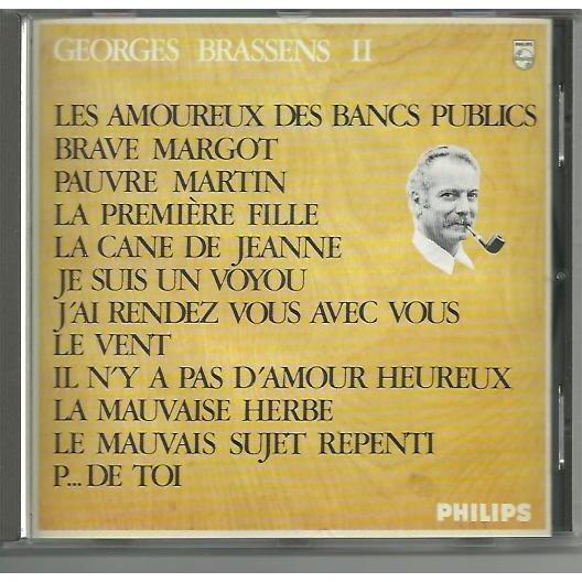 Les amoureux des bancs publics georges brassens vol 2 de - Les amoureux des bancs publics brassens ...