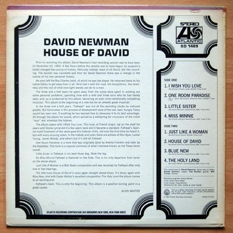 Newman, David House of David