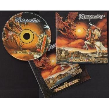 Legendary Tales Promo By Rhapsody Cd With Golfdrouot73