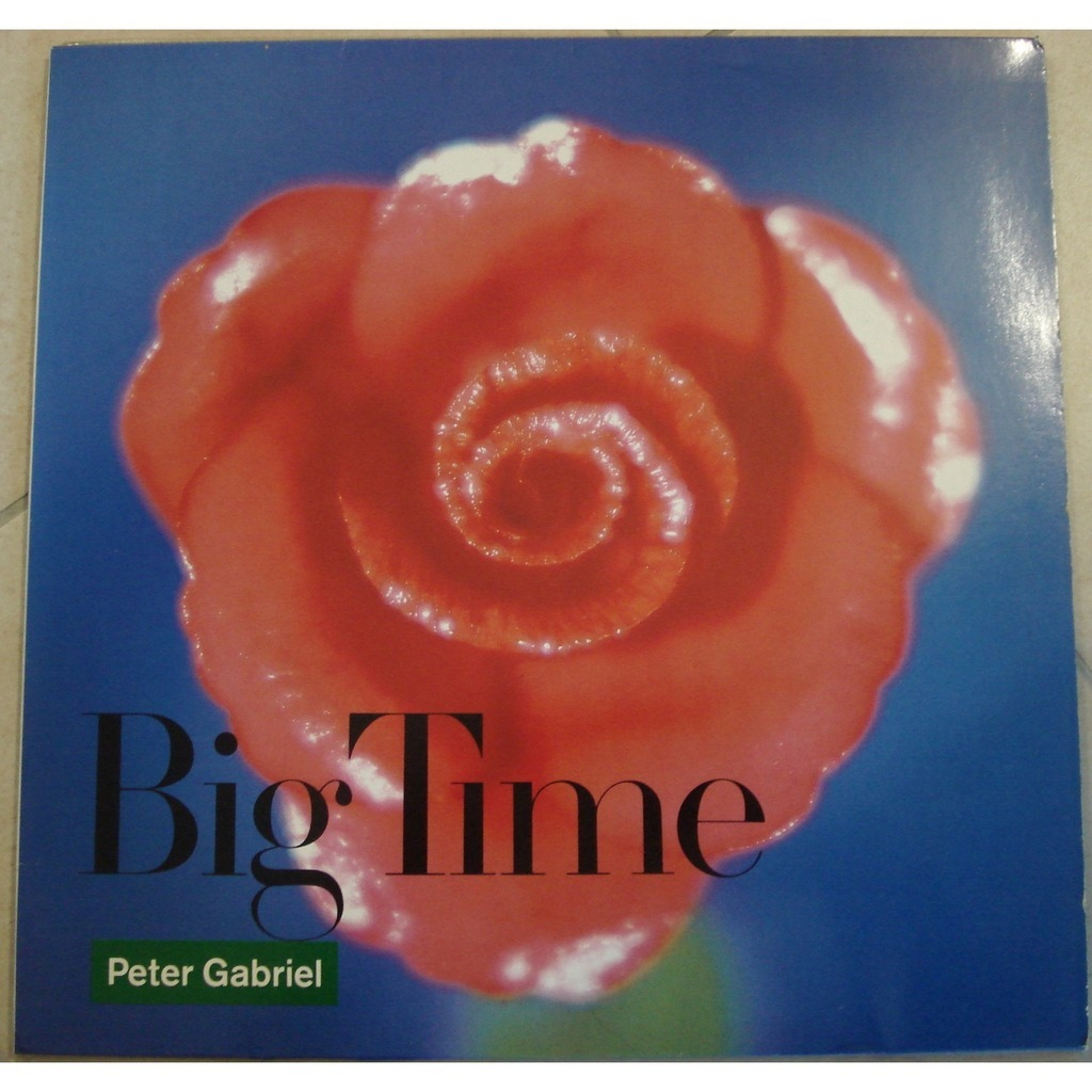 Peter Gabriel Big Time 12 Inch 45 Rpm For Sale On Cdandlp Com