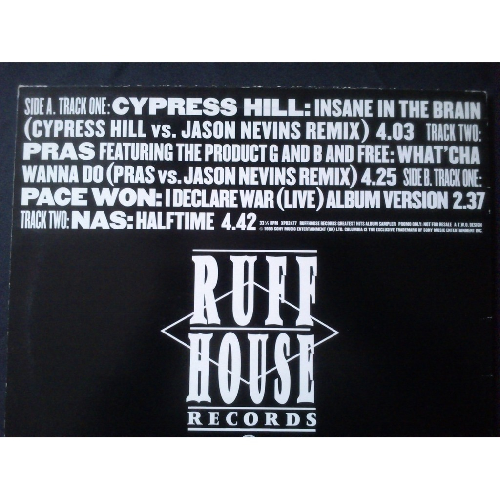 Jason Nevins vs. Cypress Hill - Insane In The Brain