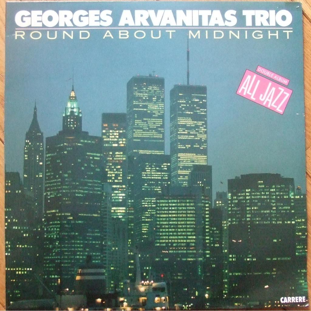 Round About Midnight By Georges Arvanitas Trio Lp X 2