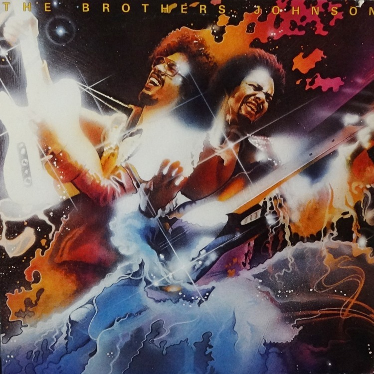 Blam By Brothers Johnson Lp With Raresoul Ref 115583094
