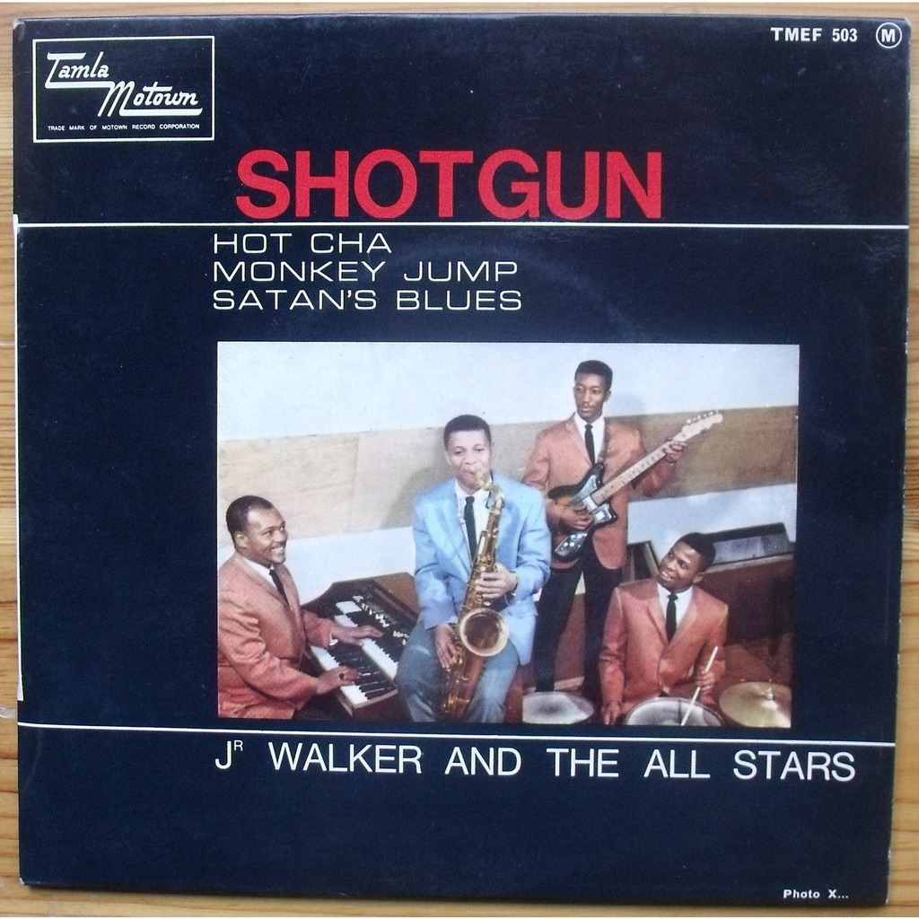 Shotgun By Jr Walker And The All Stars Ep With Jcl36