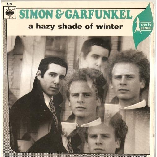 simon and garfunkel a hazy shade of winter