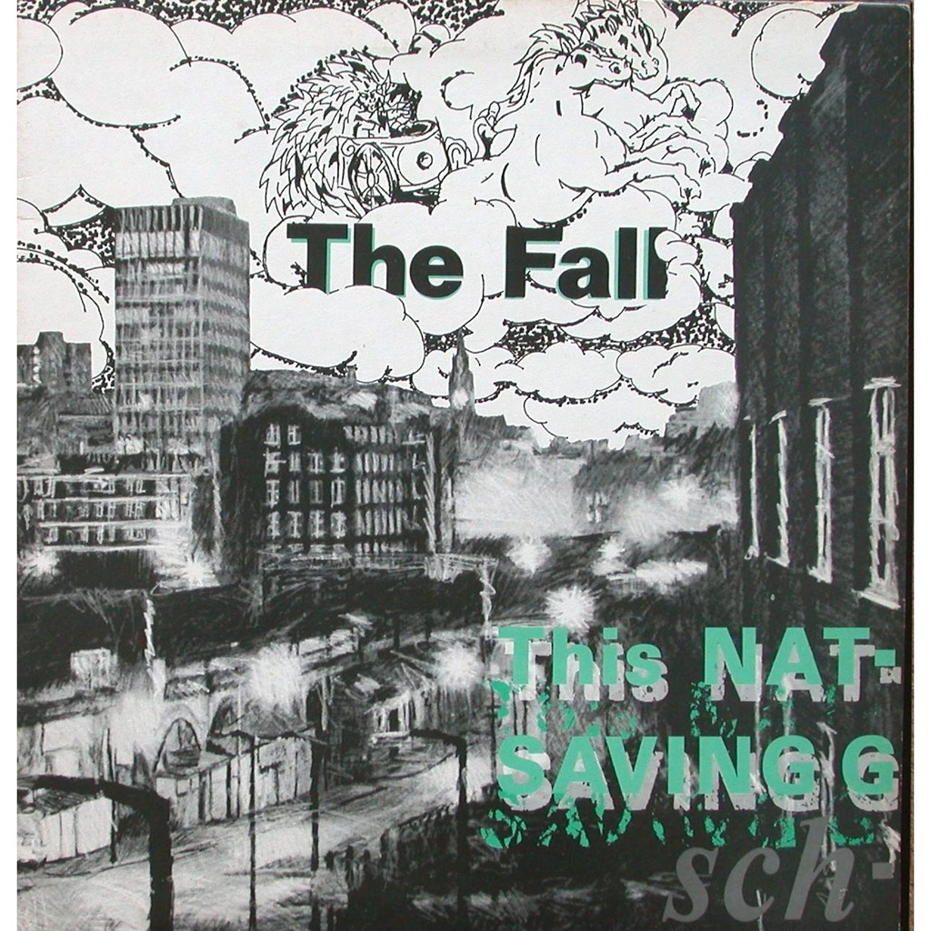 this nation u0026 39 s saving grace by the fall  lp gatefold with skeudagogo