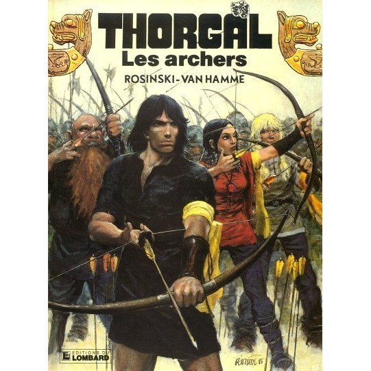 THORGAL Les archers - thorgal n°9