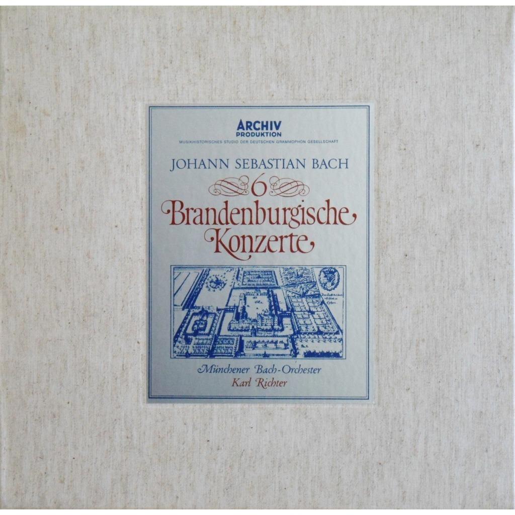 Bach 6 Brandenburgische Konzerte 2lp Box Set By