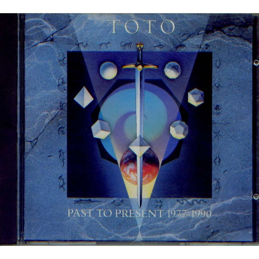 Past to present 1977-1990 by Toto, CD with grigo - Ref:112620457