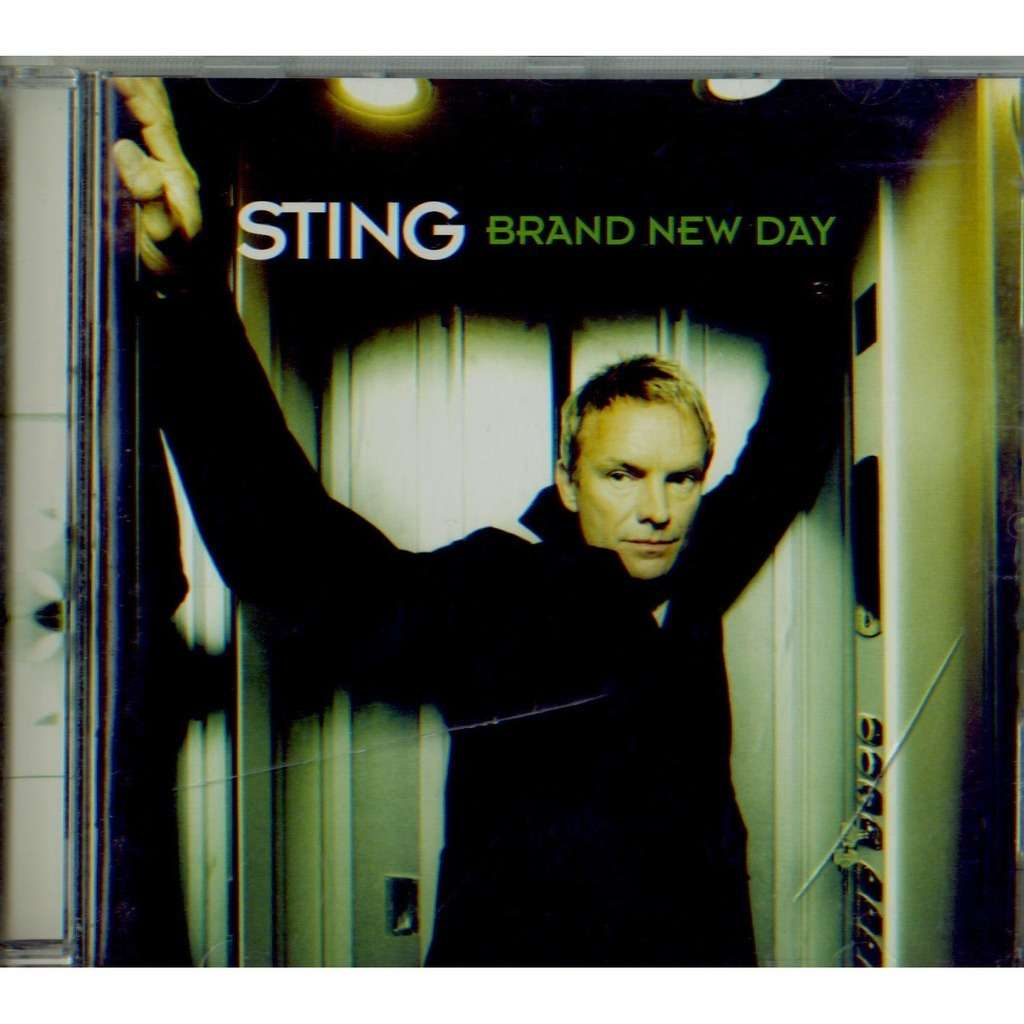 Brand New Day By Sting Cd With Grigo Ref 113536314