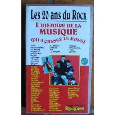 LES  20 ans DU  ROCK  VOL 1 L'HISTOIRE DE LA MUSIQUE QUI A CHANGE LE MONDE
