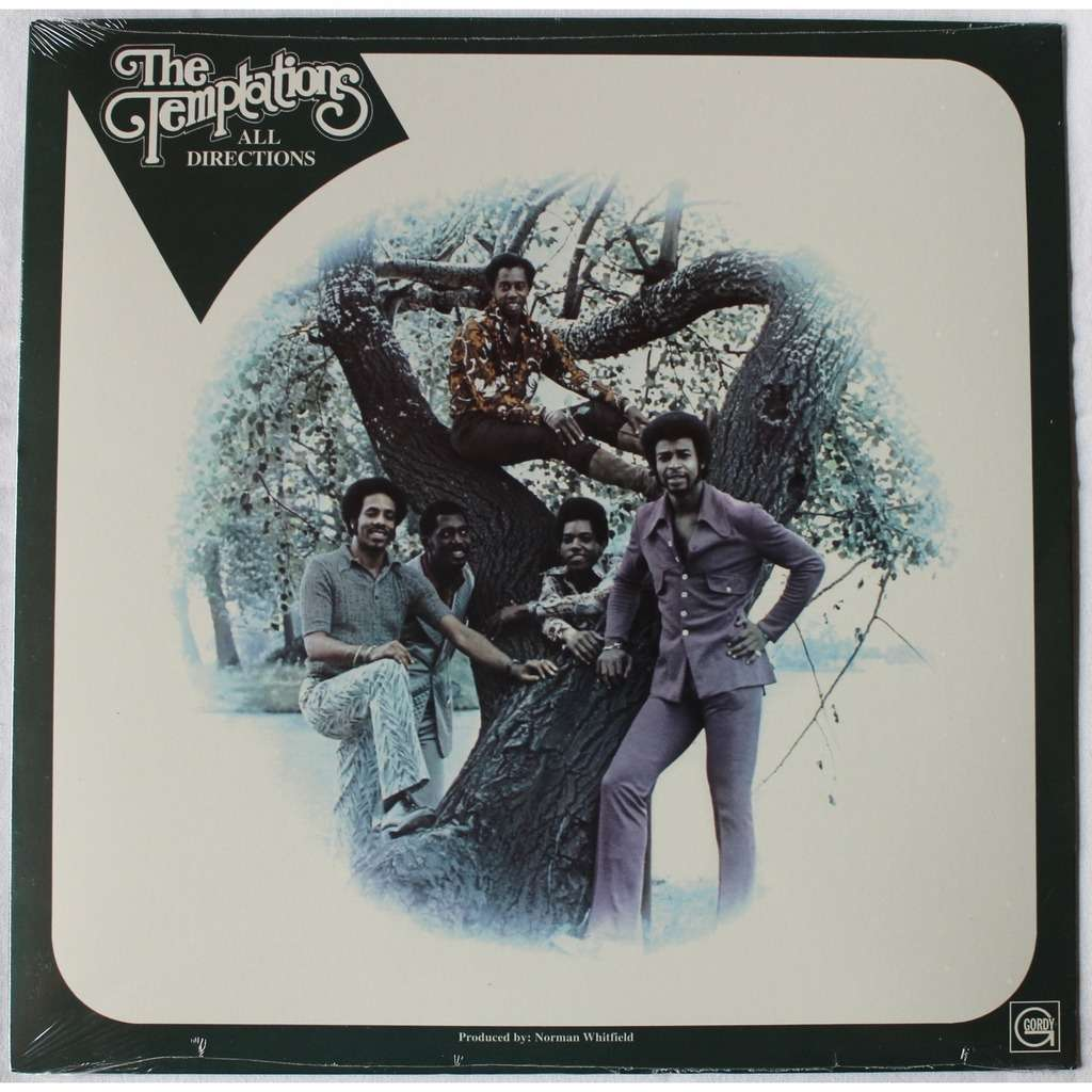 All Directions By The Temptations Lp With Rocknrollbazar