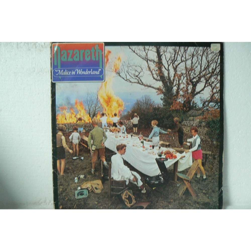 Malice In Wonderland By Nazareth Lp With Boncla01