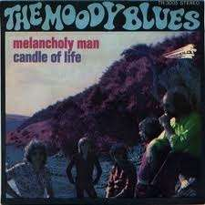 the moody blues melancholy man ( proche EX / NM )