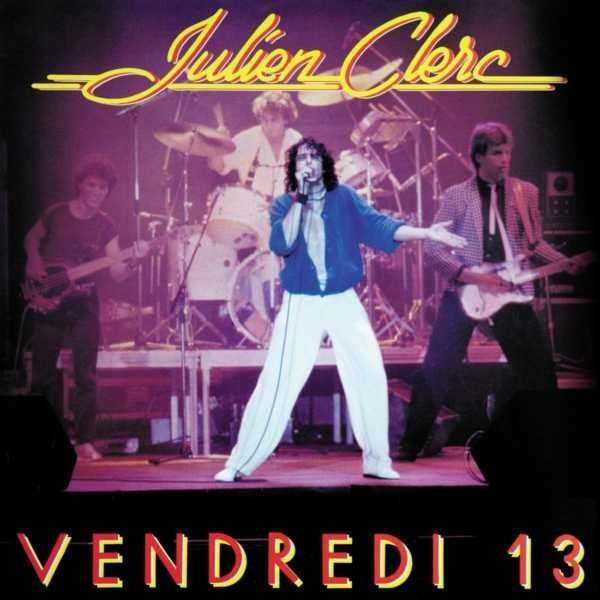 JULIEN CLERC Vendredi 13 2 LP