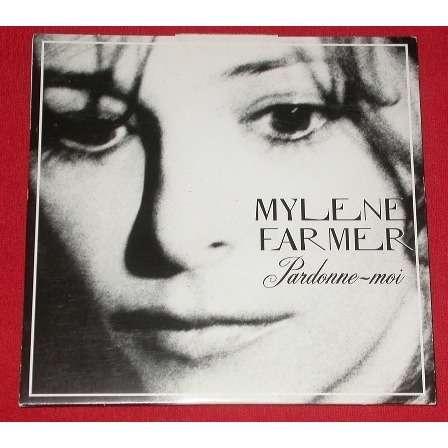 mylene farmer cd 3 titres limité pardonne moi chevalet