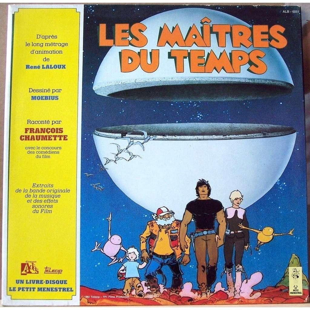 chaumette / moebius / laloux les maitres du temps