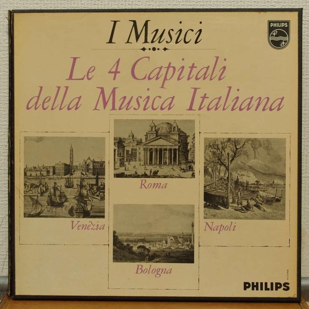 Le 4 Capitali Della Musica Italiana By I Musici, LP Box