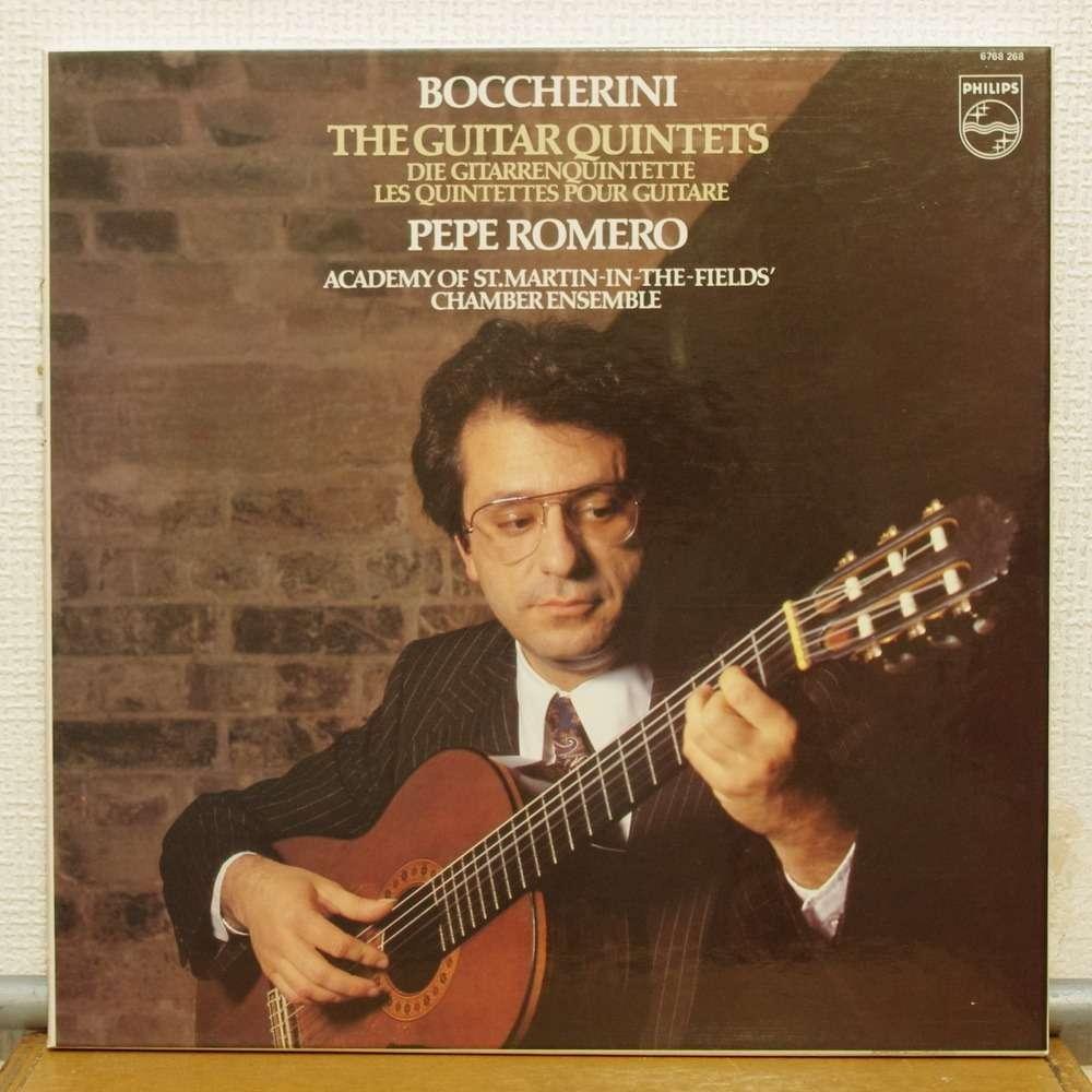Boccherini The Guitar Quintets By Pepe Romero Lp Box