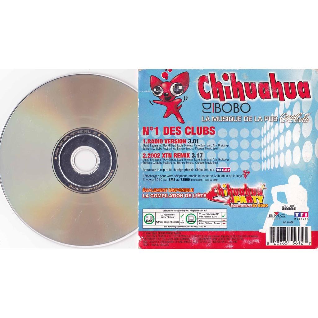 Close Dj Bobo Chihuahua Pub Tv Coca Cola 2002 Xtn Remix Cd