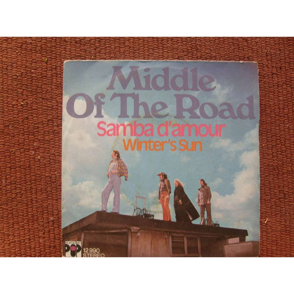 middle of the road samba d'amour - winter's sun