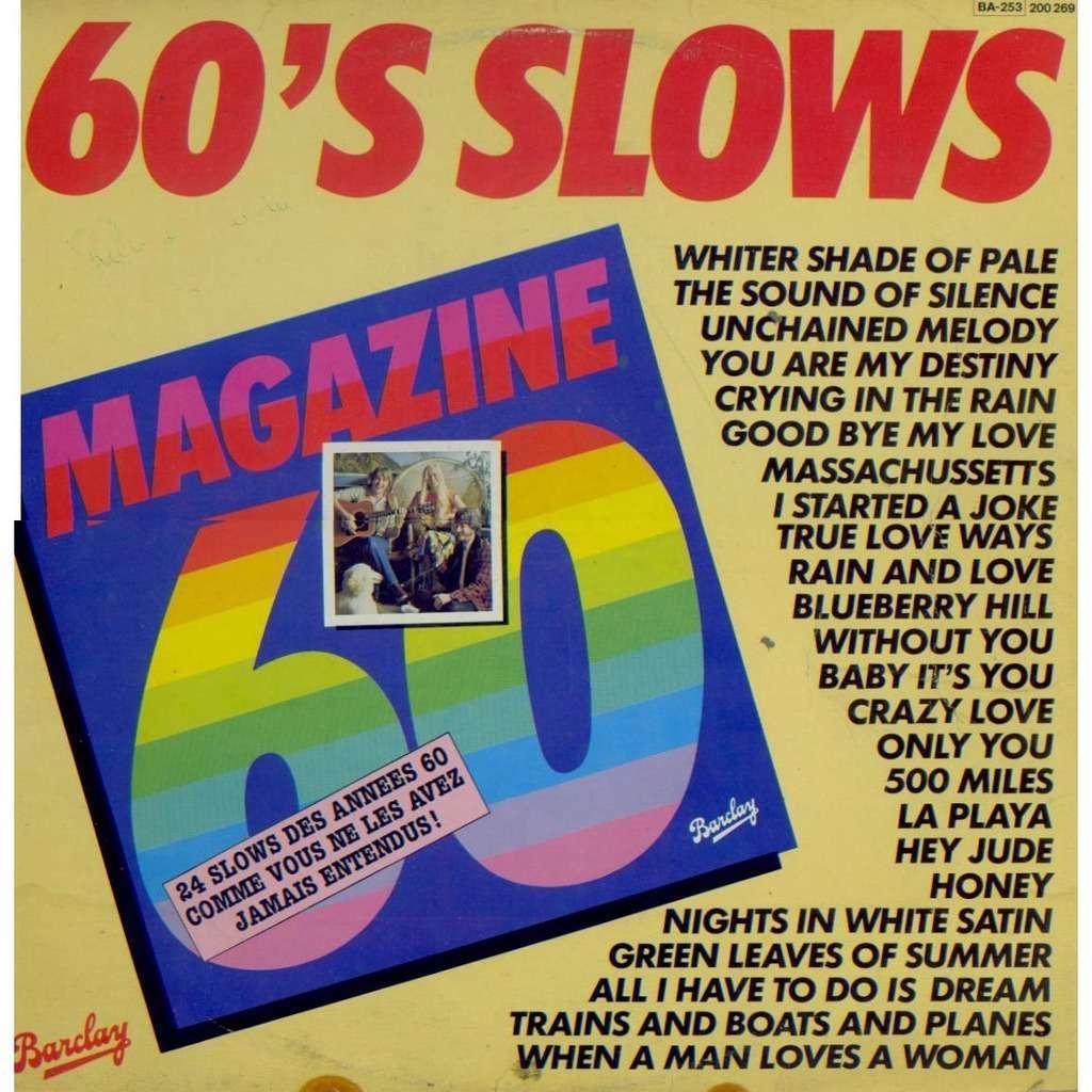 magazine 60 - (paul damanti & j. l. drion) 60's slows