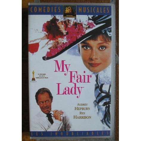 My Fair Lady By Audrey Hepburn Vhs With Musikdany