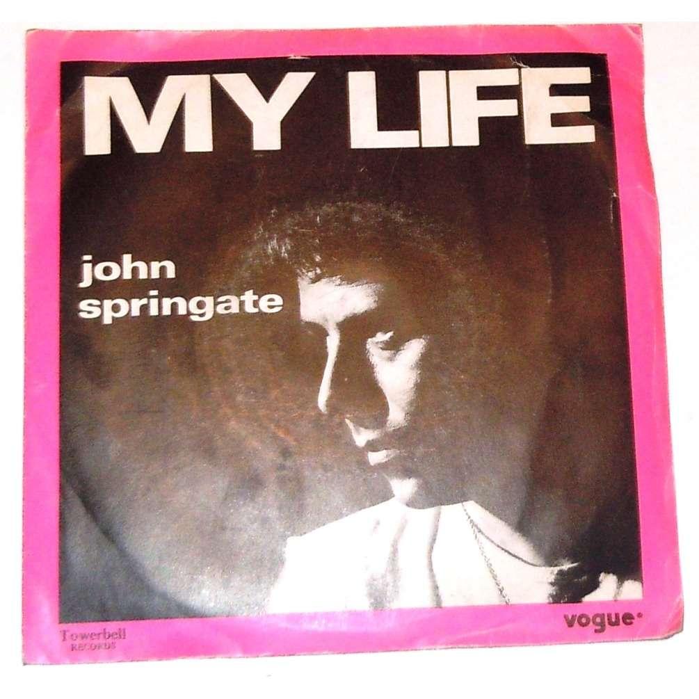 springate john my life - eye contact
