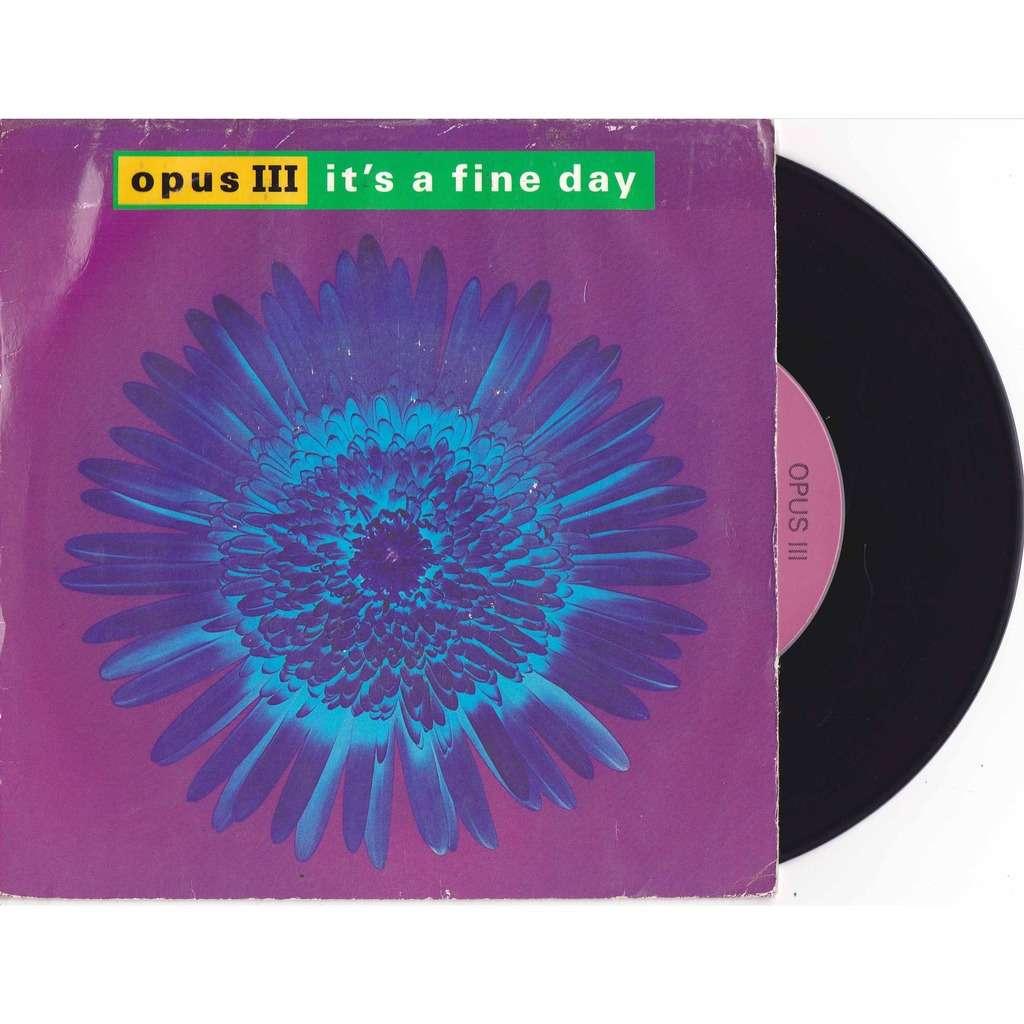 opus 3 it's a fine day