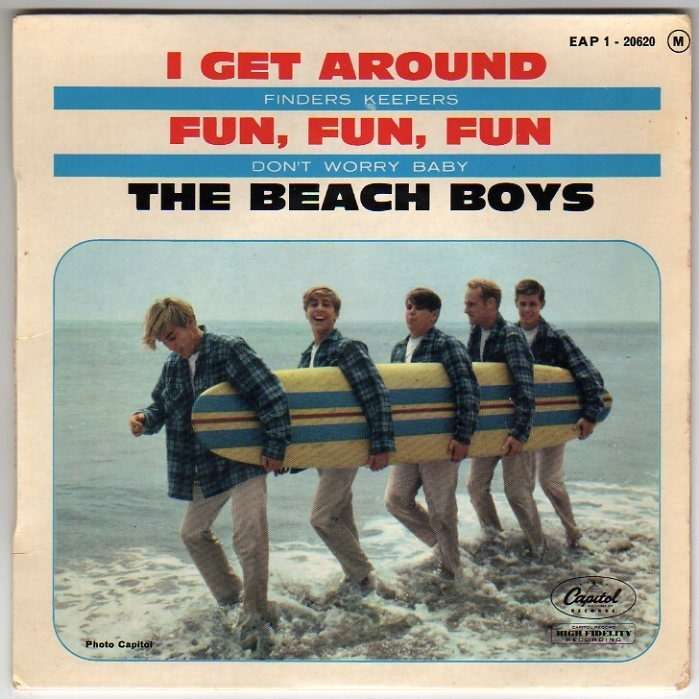 Beach Boys I Get Around